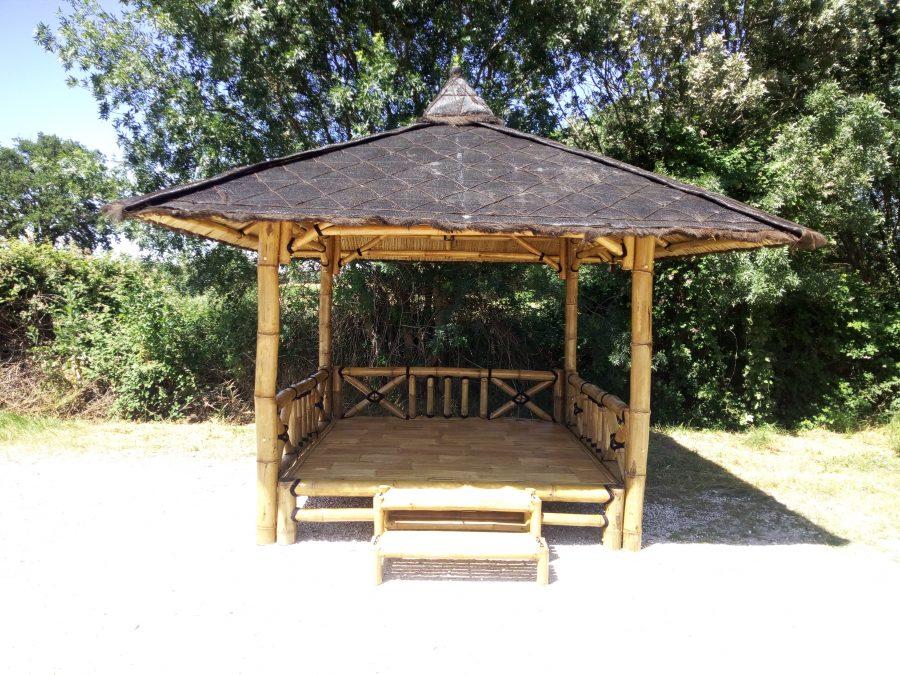 Abri de jardin en bambou « Lit SUMATRA »